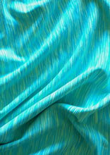 Supplex Lycra Space Dye Aqua