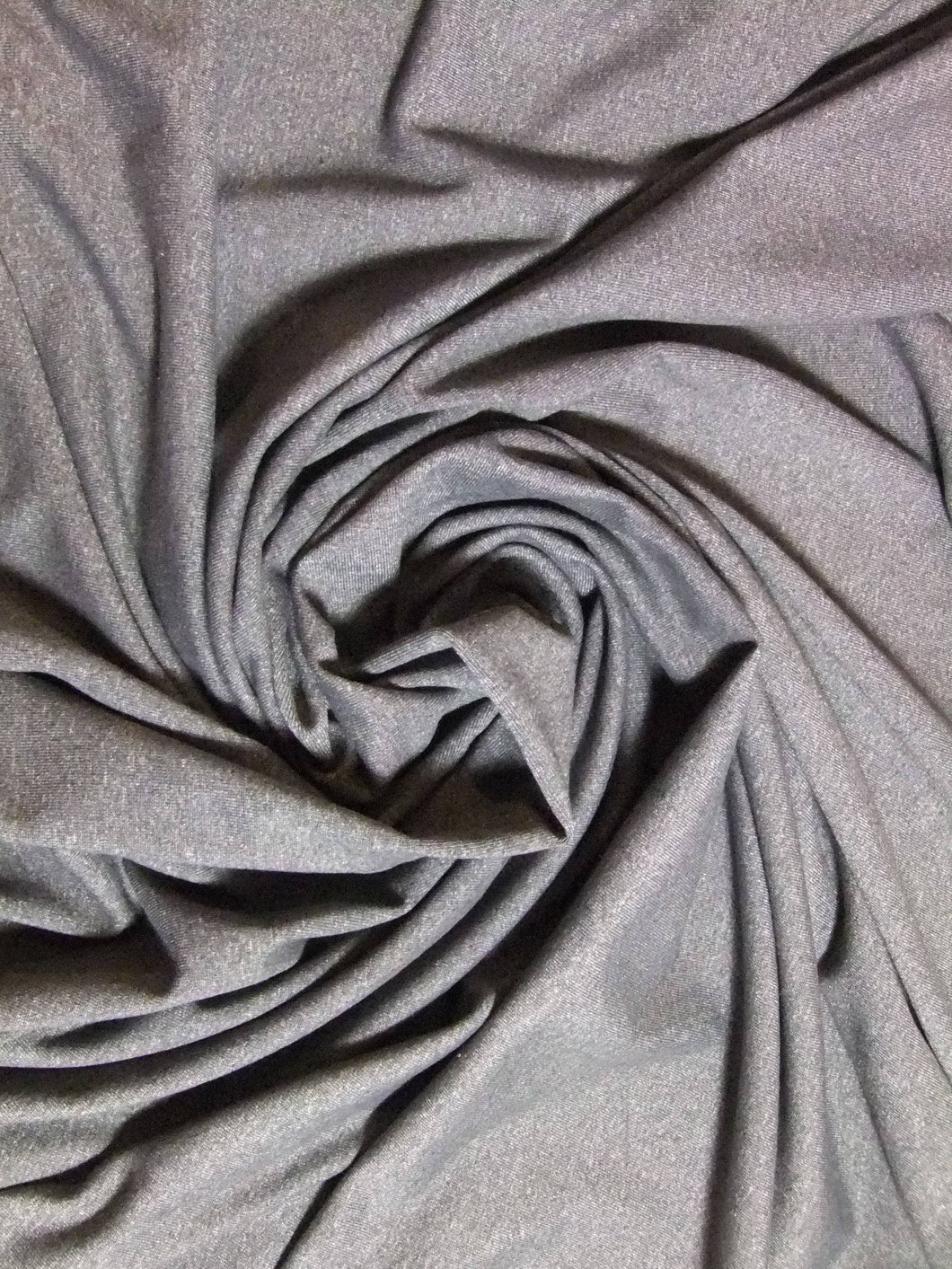 Remnant: Double Brushed Spandex - Grey Marle