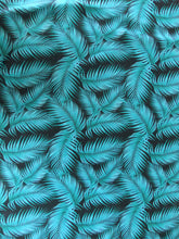 Eco Poly Recycled Athletic Knit - Palm Leaves