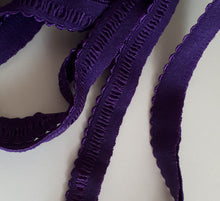 Picot Elastic, Purple
