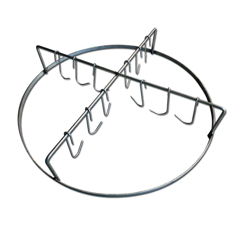 Stainless Steel WSM Hanging Rack With Hooks