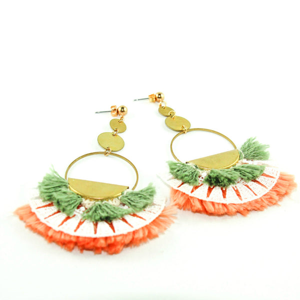 kokono collaboration This Ilk et Tamy Emma Pepin boucles d'oreilles made in montreal