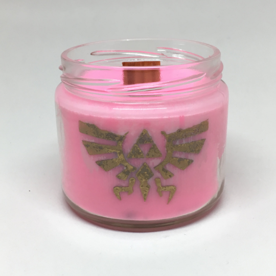 Zelda's Lullaby Inspired Candle