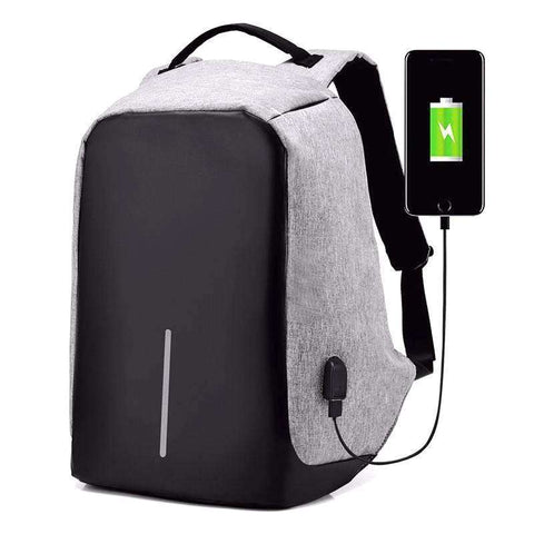 Antonio™ - Best Anti-Theft USB Charging Travel Backpack - Tooty Store