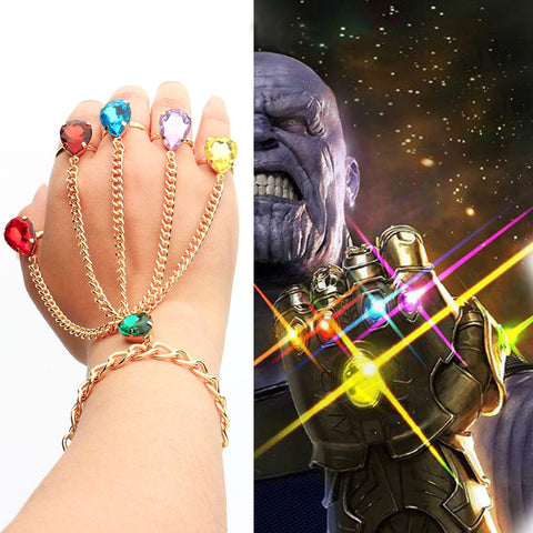 Avengers Infinity War Hand Chain Bracelet - Tooty Store