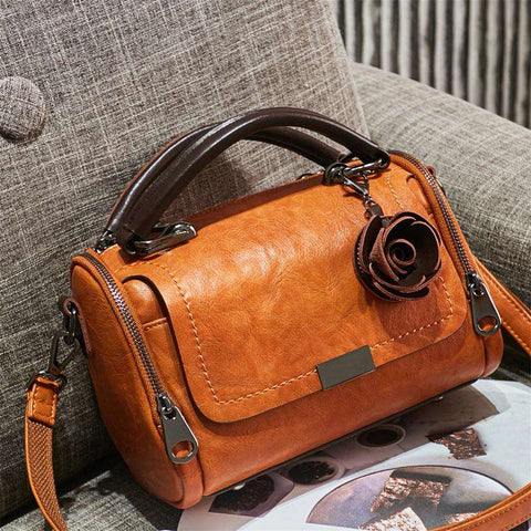 Luxury Leather Women's Shoulder & Handbags