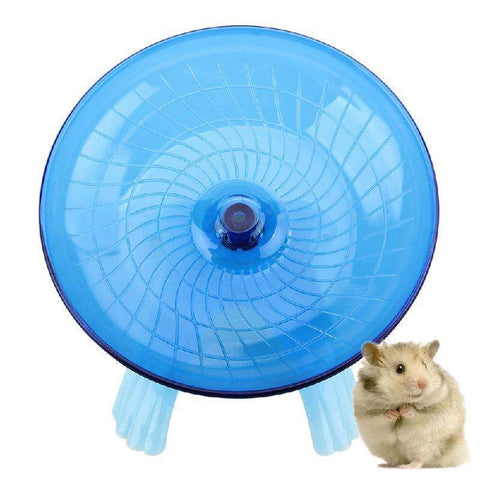 Hamster Running Disc Flying Saucer Exercise Wheel - Tooty Store