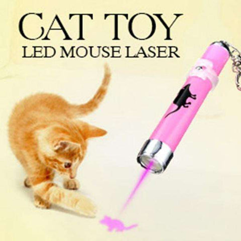 Cat Toy Led Mouse Laser - Tooty Store