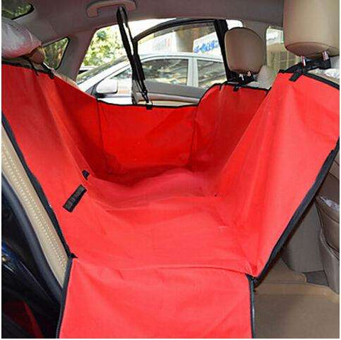 Car seat cover for dog
