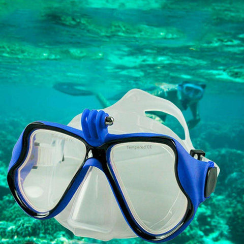 Professional Underwater Camera Diving Mask Scuba Snorkel Swimming Goggles - Tooty Store