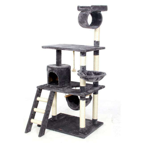 Cat Furniture Cat Scratcher Toy Wood Climbing Tree - Tooty Store