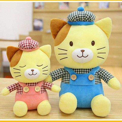 Cute Cat Plush Doll - Tooty Store
