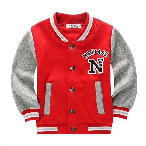 Nice Baseball Coats Jacket for Kids