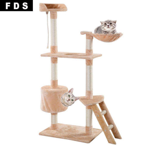 Cat Tree Tower Condo Scratcher Furniture - Tooty Store
