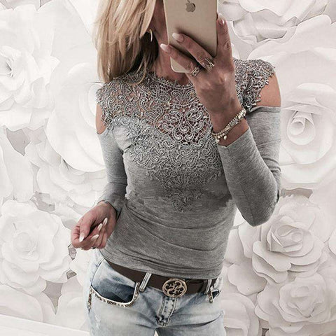 Sexy Lace Blouse - Tooty Store