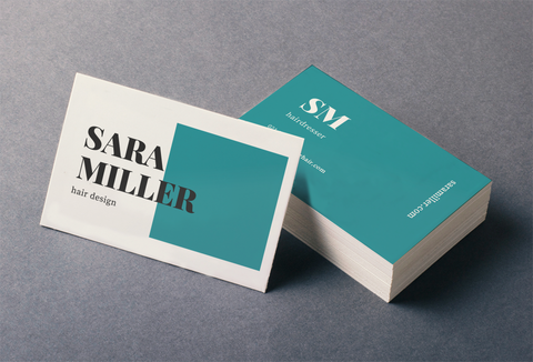 BUSINESS CARD STANDARD - 2 SIDED
