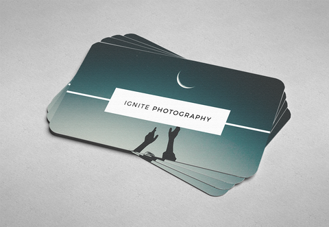 ADD ROUNDED CORNERS TO YOUR BUSINESS CARDS