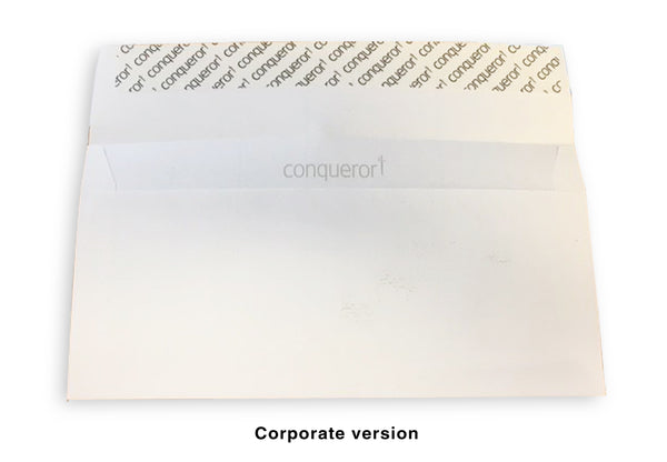 DLE ENVELOPES - STANDARD OR CORPORATE QUALITY