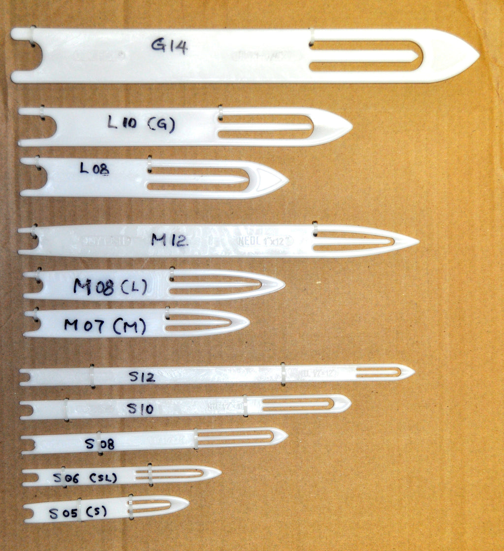 Net Needles - Classic White (Each)