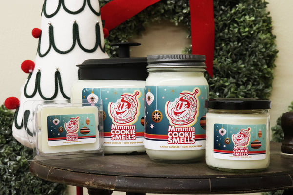 "Some Good ""MMMM Cookie Smells"" Candle"