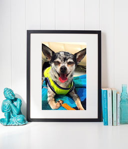 Framed Wall Prints with Matting
