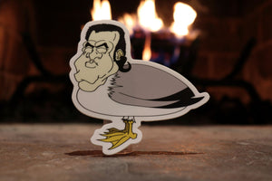 Steven Seagull Sticker