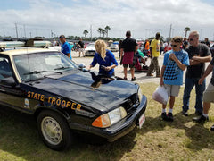 Polished Florida Trooper car