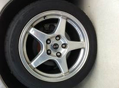 Polished tires