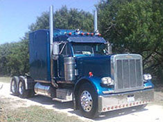 Polished truck