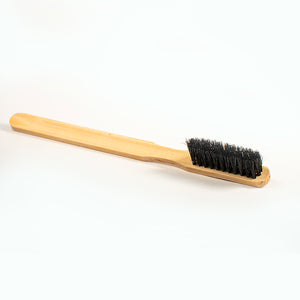 Bamboo Straight-Handled Horse Hair Brush
