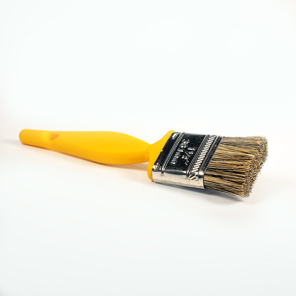 Paint-Brush Head Detailing Brush with Natural Bristles