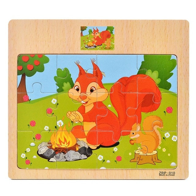 Learning Puzzle for Babies