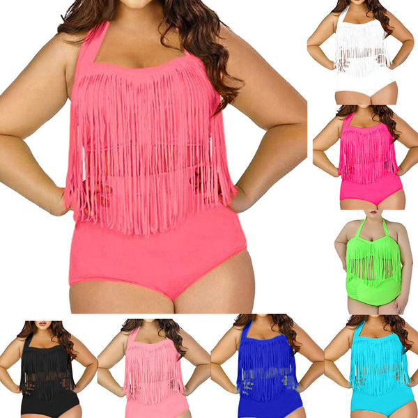 Women's large size swimwear