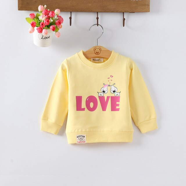 Baby Girls Cotton T-shirt