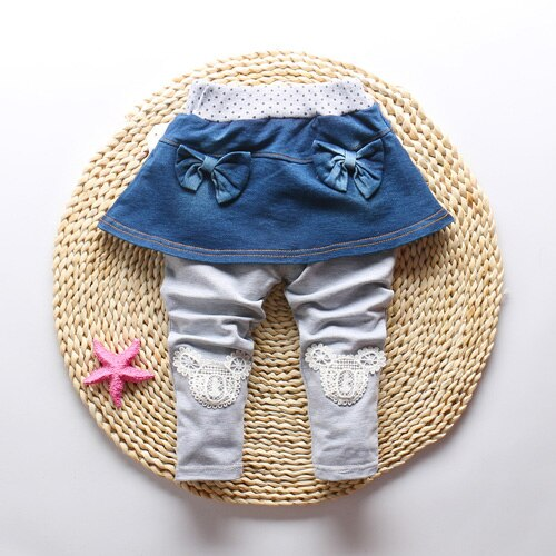 Fashion Baby Girls Skinny Pants