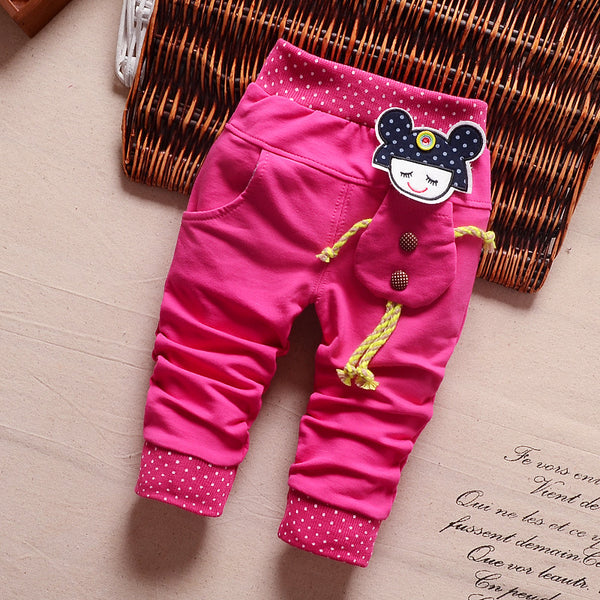 0-3Y Toddler Infant Girls Full Pants