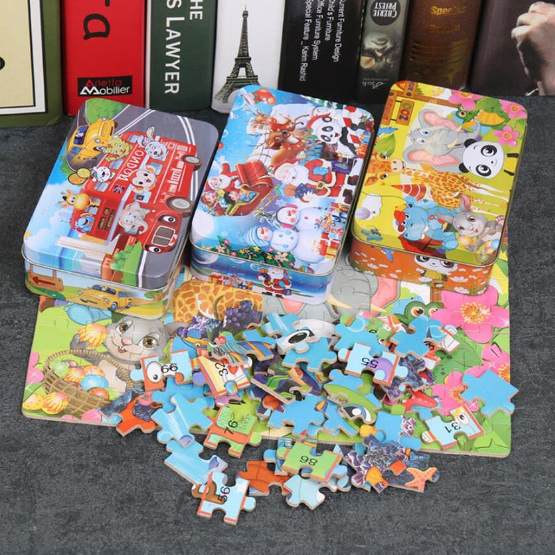 100 Piece Intelligence Puzzles for Kids