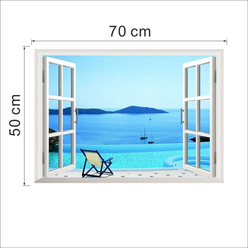Beach Wall Sticker For Office