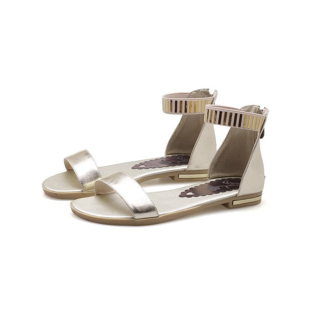 New Genuine Leather Sandals