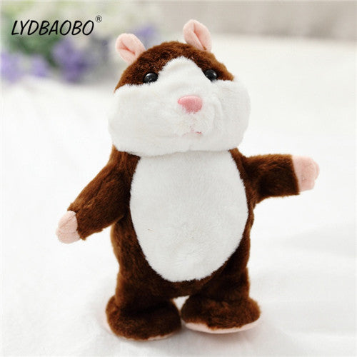 1PC 18CM Talking Hamster Plush