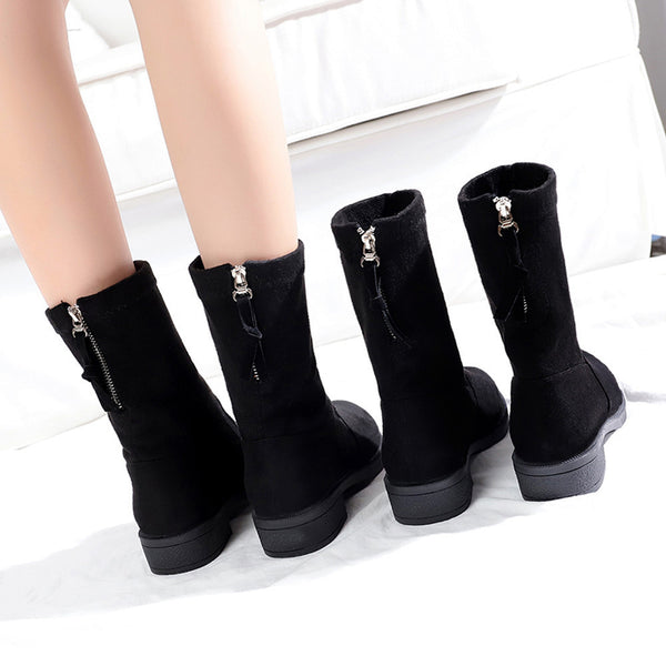 Women Flcok Boots