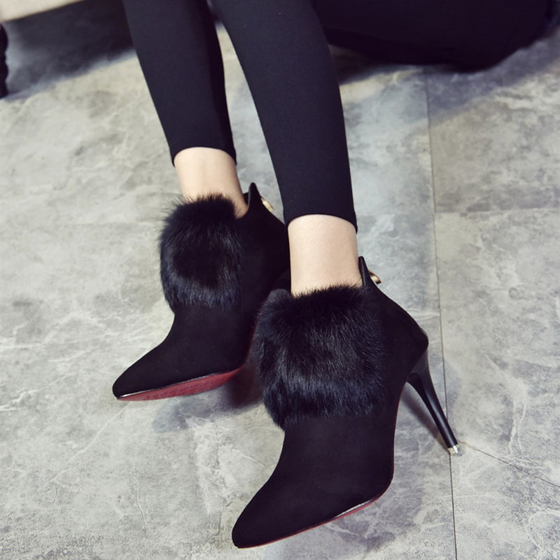 Pointed High Heel Shoes