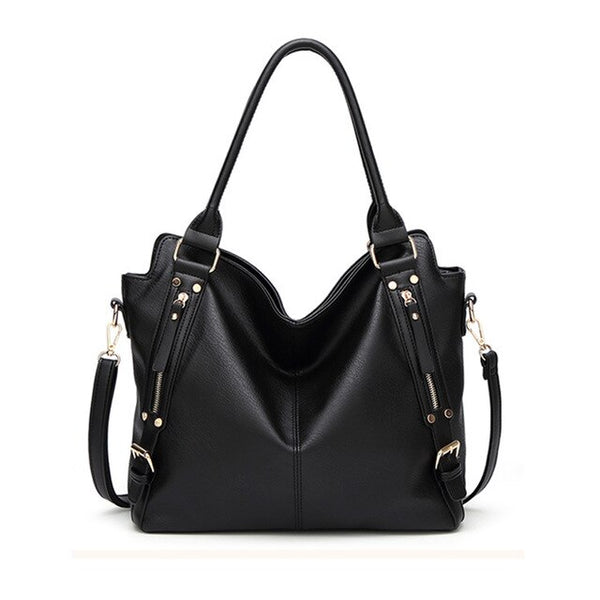 Casual Leather Handbag