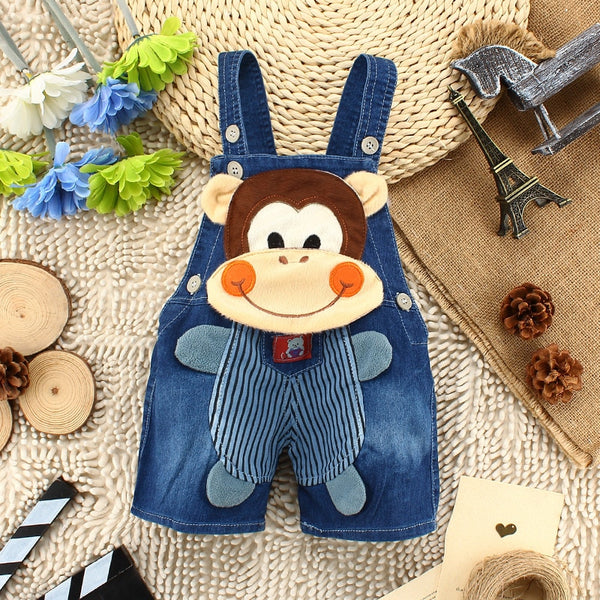 1PC Kids Baby Boys Monkey Clothing