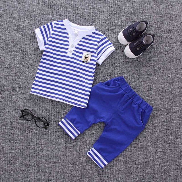 2PC Kids Baby Boys Clothes