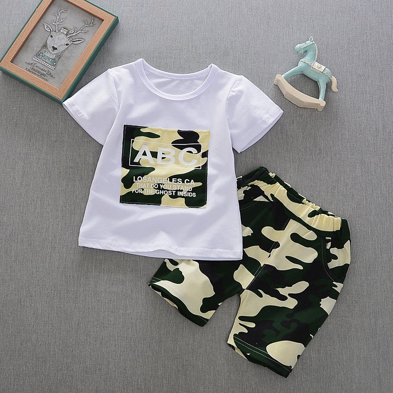 Casual 2PC Baby Boys Clothing Sets