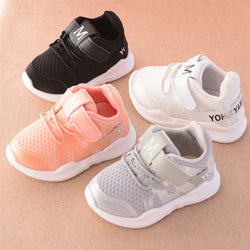 White Soft Bottom Baby Sneaker