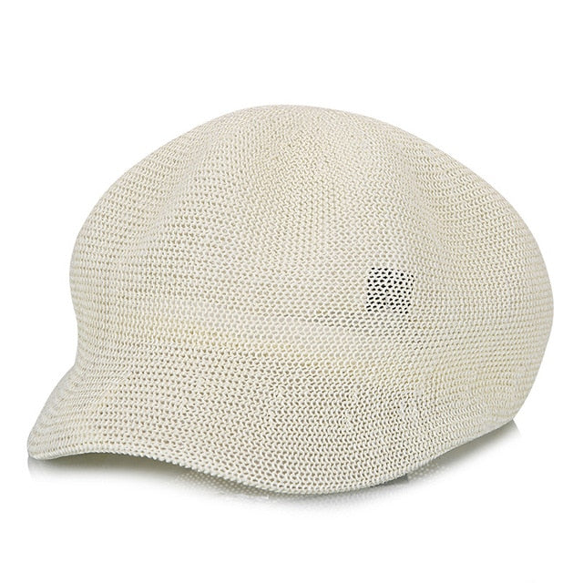 Women's Straw Knit Hat