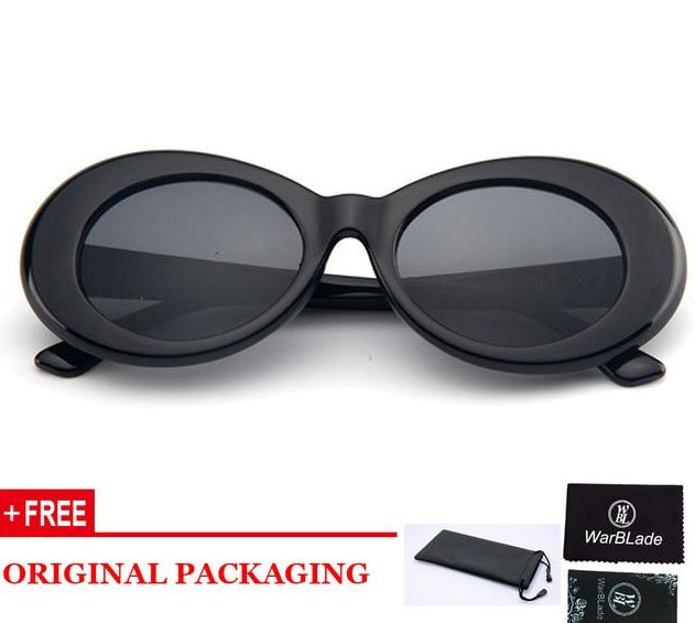 Vintage NIRVANA Oval Sunglasses