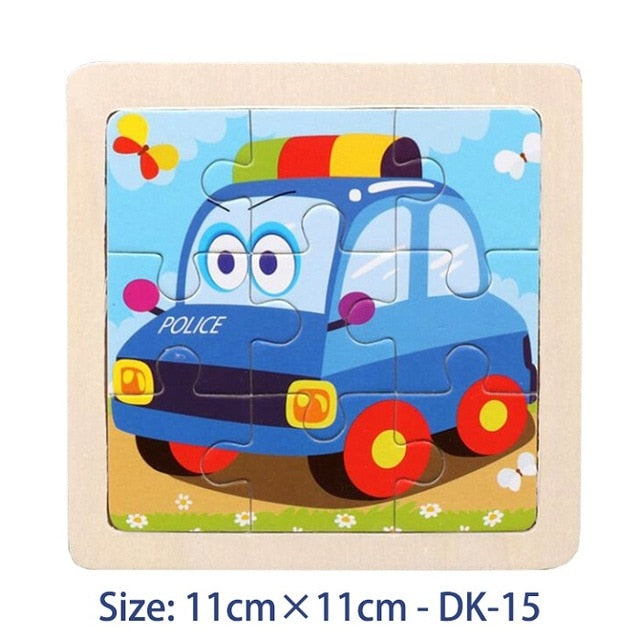 38 Style Cartoon Puzzle 2-6 Years